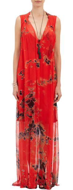 Raquel Allegra Tie-Dye Maxi Dress