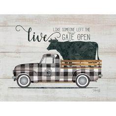 Wood Pallet Art, Wood Pallets, Diy Wood, Farm Trucks, Old Trucks, Truck Signs, Truck Crafts, Truck Paint, Decoupage