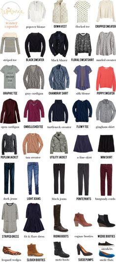 To wear: winter capsule + linkup | in residence | Bloglovin'