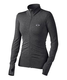 Jet Black Cool Down Two Zip-Up Track Jacket