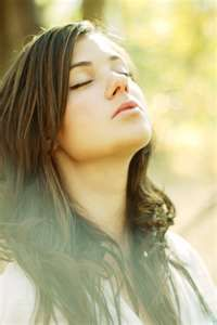 Deep Breathing will help you relax. So breathe in the light, breathe out the love. (Photo courtesy of krene.deviantart.com)