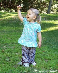Alyssa's Peasant Top Pairs up beautifully with the Rowan Pants, Skylar Skirt and well just about anything I want it to!  Great under dresses also to add to sleeves!!   Fairytale Pattern Designs