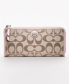 Love this COACH wallet