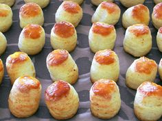 Bread Dough Recipe, Hungarian Recipes, Hungarian Food, Pretzel Bites, Doughnut, Nutella, Muffin, Good Food, Food And Drink