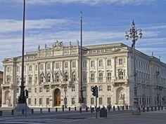 Trieste,Italy - Palacio Lloyd Triestino