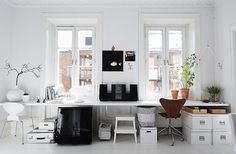 5 Creative Spaces We Love .. what a great space ...xxxbureauofjewels/etsy and facebook