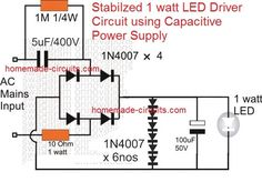 You may also like: Using Aluminum Strip Heatsink for Hi-watt LEDs instead of PCB to Boost Converter Circuit 7 Watt LED Driver SMPS Circuit – Current Controlled Simplest 100 Watt LED Bulb Circuit Illuminating 24 White LEDs from two 9 Volt Cells Diy Electronics, Electronics Projects, Hack Internet, Motor Dc, Electronic Circuit Design, Solar Inverter, Circuit Projects, Bulb, Led