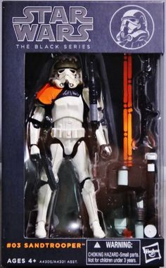 Star Wars Black Series 6 Inch Sandtrooper Action Figure Star Wars http://www.amazon.com/dp/B00F8H6VX0/ref=cm_sw_r_pi_dp_dIOaub07DNJAF