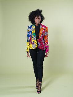 Color Mix Classic Blazer – Zuvaa