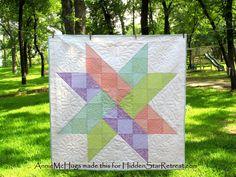 Free Tutorial - Hidden Star Quilt By Annie McHugs