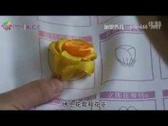 リボン刺繍つくり方講座31/41【F薔薇繍b】ケイトリリアン刺繍館