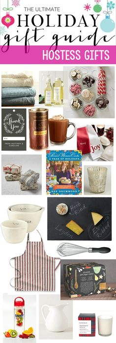 Holiday Gift Guide and GIVEAWAY | Hostess Gifts