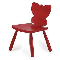 """Children's Furniture Co Animal Butterfly Kids Novelty Chair Size: 23"""" H x 14.5"""" W x 14"""" D, Color: Yellow"""