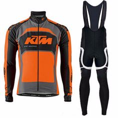 Pro team Ktm Cycling long set Jerseys Ropa Ciclismo maillot/Autumn Bicycle clothing mens Bicycle clothing bike clothes Hot sales