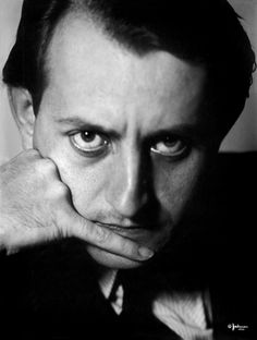 Philippe Halsman photograph of Andre Malraux. 1934