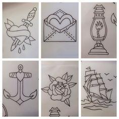 Traditional American tattoo designs