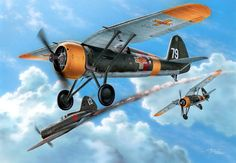 1941 PZL P-11f Romania - Stan Hajek -Special Hobby