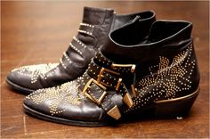 Erin Wasson Chloe booties. Would go perfectly with tights and shorts.