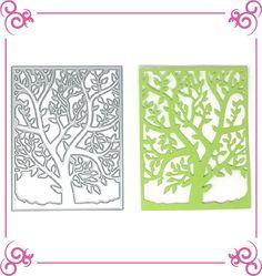 Unbranded Cutting Dies - Tree Panel