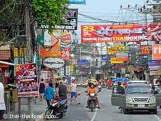 Koh Samui Walking Road Koh Samui Thailand, Strand, Walking, Street View, Woking, Hiking