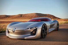 Newcarreleasedates.com 2017 Renault TreZor Electric GT Was Officially Revealed, Can Do 0-60 in Under 4-Seconds Flat