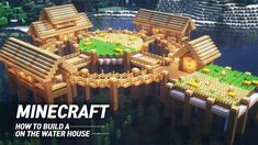 On Water to build MAB JUNS ( Minecraft Architecture Builder) Hi guys. I'm Juns who majored in architecture in Korea. Lego Minecraft, Minecraft Building Guide, Minecraft Houses Survival, Easy Minecraft Houses, Minecraft House Tutorials, Minecraft Plans, Amazing Minecraft, Minecraft House Designs, Minecraft Construction