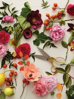 rifle paper co paper flowers