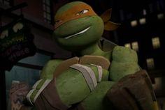 Mikey :) Tmnt Mikey, Tmnt Leo, Ninja Turtles Pictures, Tmnt 2012, Teenage Mutant Ninja Turtles, Fandoms, Amazing, Life, Ninja Turtles