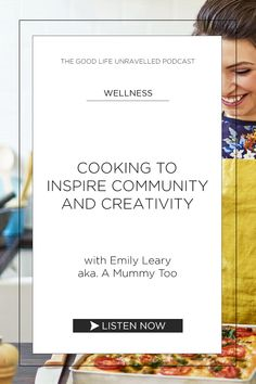 Podcast interview with Emily Leary, aka A Mummy Too, about how we can use cooking to inspire and create community. We chat about how we are coping with UK lockdown, and how Emily is inspiring others to try cooking new recipes. Inspire Others, Life Is Good, Interview, Cards Against Humanity, Author, Wellness, Community, Good Things, Create