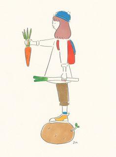 saayamm: お野菜バランス 2013 9 SAAYA MASAKI