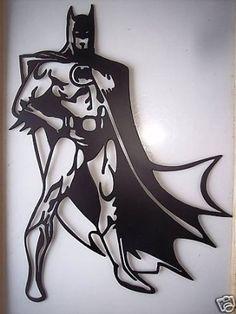 Amazon.com: Batman Superhero Standing Decorative Metal Wall Art: Furniture & Decor