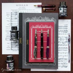 Music nibs can be used for so much more than just creating music! Whether you're writing scores with sweeping crescendos or simply want to enjoy beautiful line variations in your handwriting, music nibs are for anyone looking for a new writing experience.