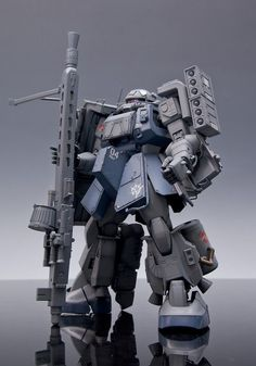 """Heavy Weapon Type With Sniper Rifle"" – Custom Build « Gundam Toys, Gundam Art, Types Of Robots, Japanese Robot, Gundam Mobile Suit, Gundam Custom Build, Gundam Wing, Wallpaper Size, Robot Art"