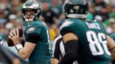 Standings: 1. Philadelphia Eagles (8-1) 2. Minnesota Vikings (7-2) 3. New Orleans Saints (7-2) 4. Los Angeles Rams (7-2) 5. Carolina Panthers (7-3) 6. Seattle Seahawks (6-3) The biggest matchup of the week is the Rams road trip to play the Vikings. The winner will improve to 8-2 and stay at the top of teams battling for position while the loser will fall to 7-3. That will still be enough to stay in the playoff picture regardless but would severely hurt chances at a first-round bye…