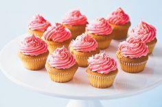 Light and fluffy dairy-free cupcakes