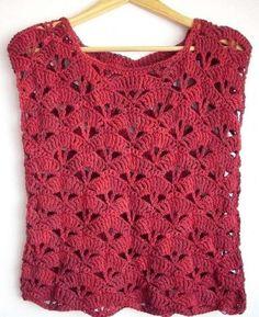 20 Modelos atuais de blusa de crochê
