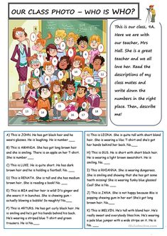 Class Photo - English ESL Worksheets for distance learning and physical classrooms English Tips, English Lessons, Learn English, English Lesson Plans, French Lessons, Spanish Lessons, Learn French, Education English, English Class
