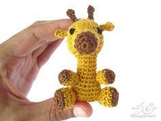 Crochet Giraffe - free pattern