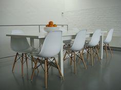 dsw eiffel stuhl von charles und ray eames im klassischen ... - Copie Chaise Eames Dsw