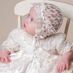 Charlotte Christening Gown (Girl) | Heirloom Baptism Clothes & Dresses - Fancy Gowns & Dresses