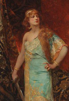 Judith by Jean Joseph Benjamin Constant.