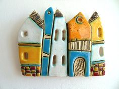 Handmade Ceramic Art Tile Size:13/11sm. ***All packages are sent via Bulgarian Posts with priority and with tracking number. Please note, I cannot take responsibility for the postal service. At busy times, items may take longer, so please allow extra time if possible -