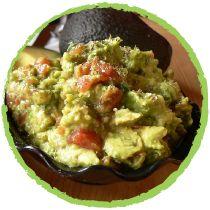 • Guacamole à la poudre de spiruline par Mon Panier Sans Gluten •