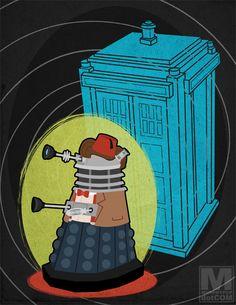 Doctor Eleven as a Dalek by Meghan Murphy