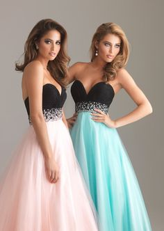 2013 New Prom Dresses Ball Gown Evening Bridesmaid dresses. $65.00, via Etsy.