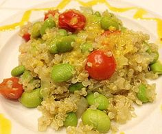 11 Easy Lunches to Lose Weight: Quinoa Edamame Salad