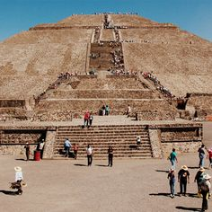 Teotihuacan (200 B.C. to A.D. 650)  Just 30 miles northeast of Mexico City is the Mesoamerican site of Teotihuacan