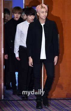BTS at 2015 MAMA Artist Welcome Meeting