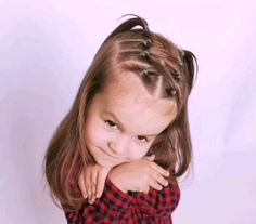 You are in the right place about baby girl hairstyles updo Here we offer you the most beautiful pict Easy Toddler Hairstyles, Girls School Hairstyles, Cute Hairstyles For Kids, Baby Girl Hairstyles, Loose Hairstyles, Protective Hairstyles, Protective Styles, Braided Hairstyles, Wacky Hairstyles