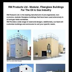 RM Products Ltd - Modular, Fiberglass Buildings For The Oil & Gas Industry RM Products Ltd.